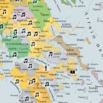 Ο διαδραστικός χάρτης της Ελλάδας με τα δημοτικά τραγούδια του 1821 ανά περιοχή