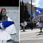 Ο Εύζωνας από την Κανδήλα που συμμετείχε στους εορτασμούς για τα 200 χρόνια από την Επανάσταση 1821