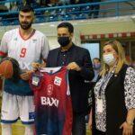 Το Μεσολόγγι BAXI τίμησε τον Δήμαρχο… Αγρινίου για την προσφορά του στην ομάδα!
