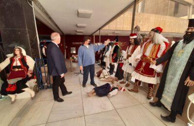 Ολοκληρώνεται το διόραμα της Εξόδου του Μεσολογγίου στο Πολεμικό Μουσείο Αθηνών