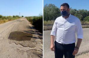 Πότε θα γίνει ο δρόμος προς την παραλία του Λούρου Νεοχωρίου;