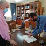 Ορκίστηκε νέος δημοτικός σύμβουλος ο Δημήτρης Μπαλαμπάνης