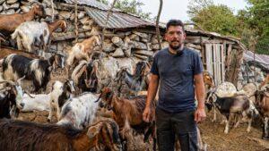 Χρήστος Τσιαμπόκαλος: Εγκατέλειψε την Αθήνα για να γίνει κτηνοτρόφος στο χωριό