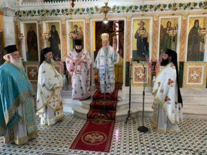 Με ιεροεπρέπεια η επέτειος της μετακομιδής του Ιερού Λειψάνου του Εθναποστόλου Κοσμά του Αιτωλού