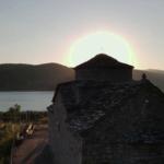 Ένα μελωδικό ηλιοβασίλεμα στον Άγιο Ιωάννη στη Σπολάιτα Αγρινίου