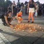 Γυναίκες του Αγρινίου δήλωσαν «παρούσες» ενάντια στη δολοφονική βία