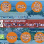 Προτάσεις για έργα 29 εκατ. ευρώ στο πρόγραμμα «Αντώνης Τρίτσης» από το Δήμο Ι.Π. Μεσολογγίου