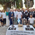 Ονοματοδοσία οδού στην μνήμη των Τάσου Ισαάκ και Σολωμού Σολωμού στο Μεσολόγγι