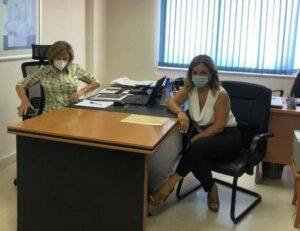 Συνάντηση Χριστίνας Σταρακά με Ελένη Φιλιπποπούλου για τα σοβαρά θέματα στο νοσοκομείο του Αγρινίου