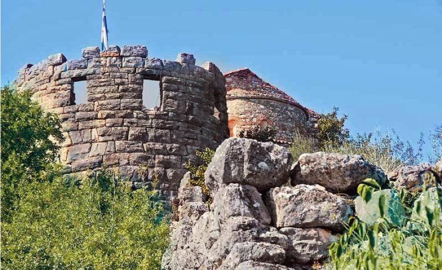 Η Παναγιά του Κάστρου στην Παραβόλα Αγρινίου