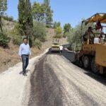 Αναβαθμίστηκαν οι αγροτικοί δρόμοι στην Αγία Παρασκευή του Δήμου Αγρινίου