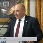 Β. Γκίζας: «Στη Ναύπακτο γεννήθηκε ένα πρώτο κοινό παρελθόν για την Ευρώπη»