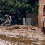 Πλημμύρισαν κατοικίες στο Καινούργιο και τη Κάτω Τραγάνα