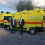 Με δύο νέα ασθενοφόρα εξοπλίζονται τα Κέντρα Υγείας Ναυπάκτου και Χαλκιοπούλου